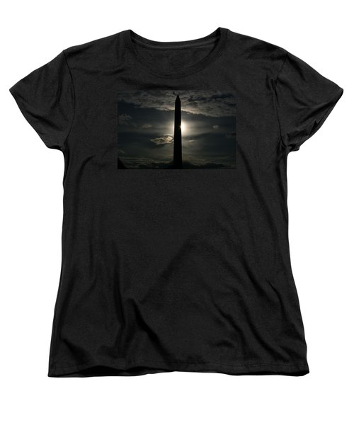Women's T-Shirt (Standard Cut) featuring the photograph Washington Monument by Stacy C Bottoms