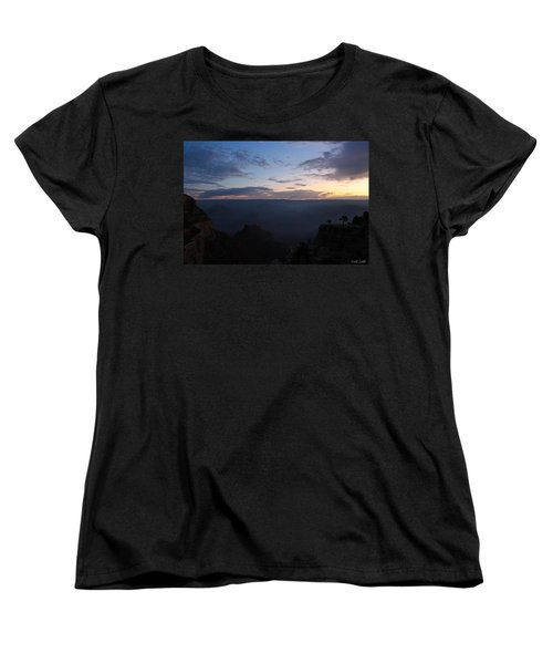 Women's T-Shirt (Standard Cut) featuring the photograph 24 Minutes To Sunrise by Heidi Smith