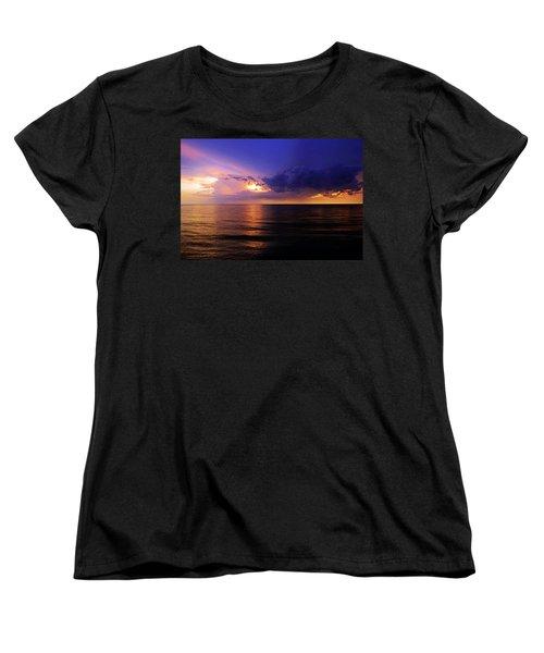 A Drop In The Ocean Women's T-Shirt (Standard Cut) by Melanie Moraga