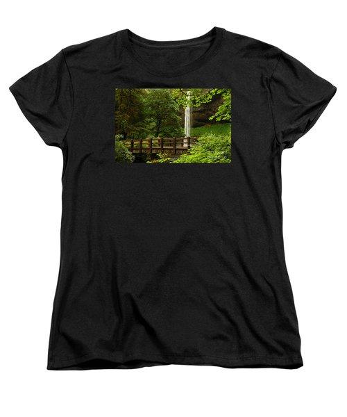 A Hidden Gem Women's T-Shirt (Standard Cut) by Vivian Christopher