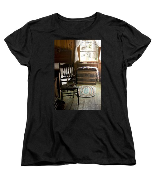 Women's T-Shirt (Standard Cut) featuring the photograph A Simpler Life by Lynn Palmer