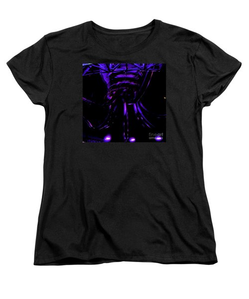 Abstract Invader Women's T-Shirt (Standard Cut) by Clayton Bruster