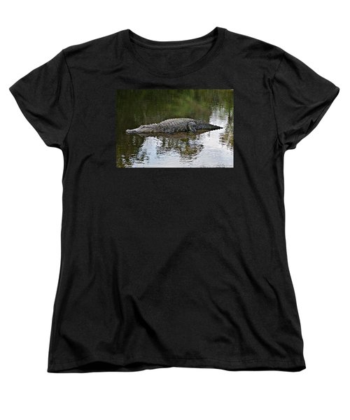 Alligator 1 Women's T-Shirt (Standard Cut) by Joe Faherty