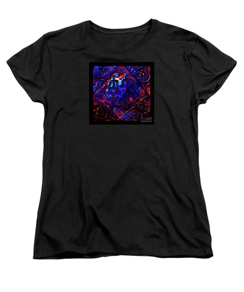 Women's T-Shirt (Standard Cut) featuring the photograph Ancient Family In Cosmos by Susanne Still
