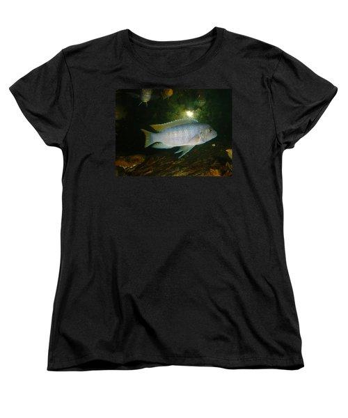 Women's T-Shirt (Standard Cut) featuring the photograph Aquarium Life by Bonfire Photography