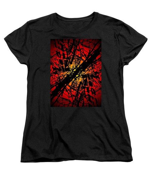 Arbor Sun Women's T-Shirt (Standard Cut) by Tim Allen