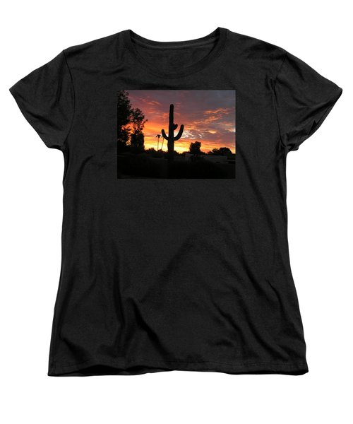 Arizona Sunrise 03 Women's T-Shirt (Standard Cut)