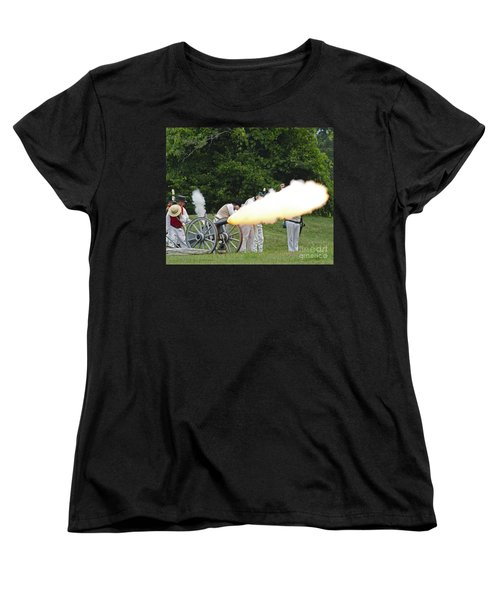 Artillery Demonstration Women's T-Shirt (Standard Cut) by JT Lewis