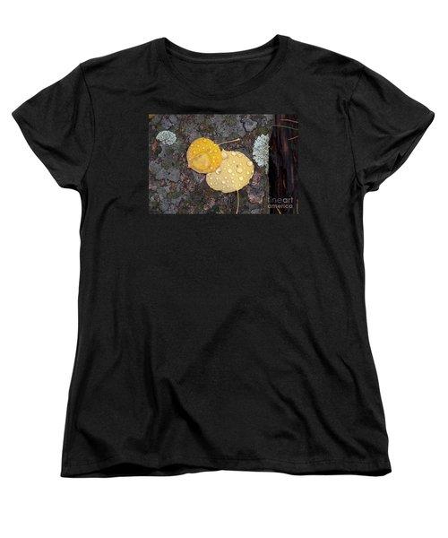 Aspen Tears Women's T-Shirt (Standard Cut) by Dorrene BrownButterfield