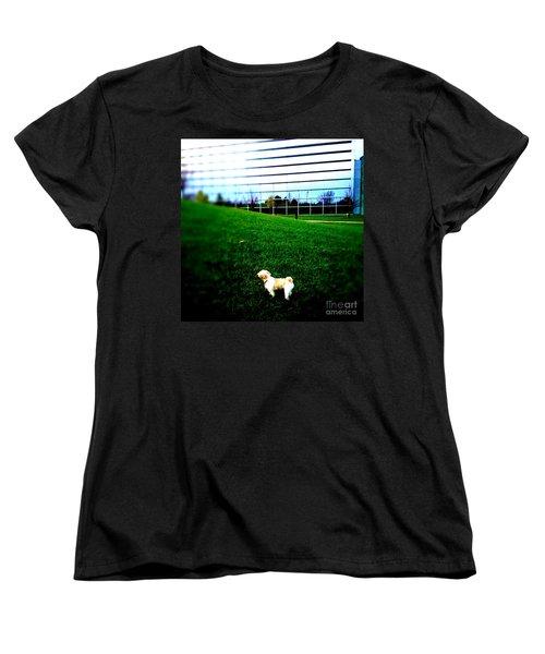 Women's T-Shirt (Standard Cut) featuring the photograph Atsuko Goes To School by Xn Tyler
