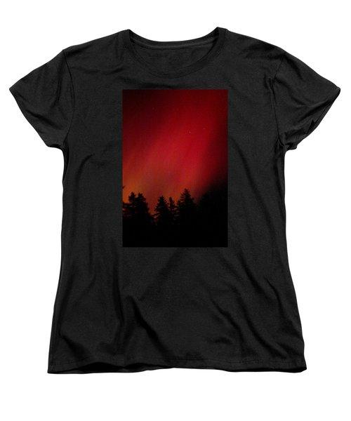 Aurora 01 Women's T-Shirt (Standard Cut) by Brent L Ander