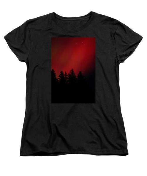 Aurora 02 Women's T-Shirt (Standard Cut) by Brent L Ander