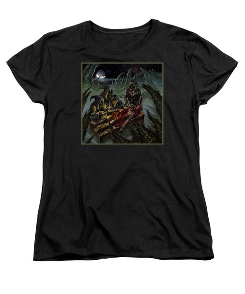 Autopsy Of The Damned  Women's T-Shirt (Standard Cut) by Tony Koehl