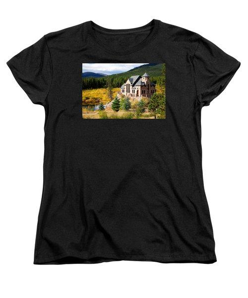Women's T-Shirt (Standard Cut) featuring the photograph Autumn At St. Malo  by Jim Garrison