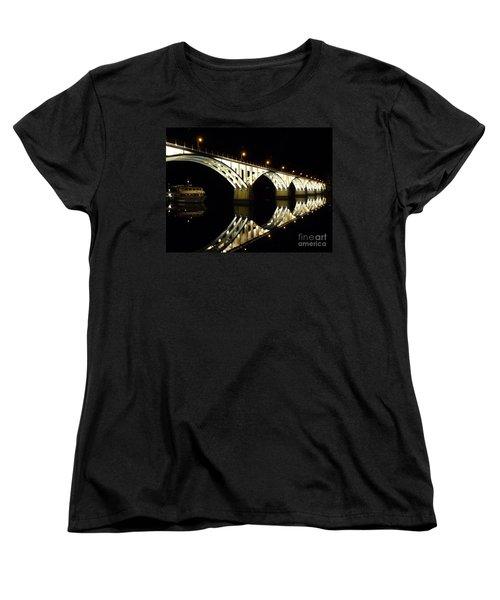 Barca D'alva Women's T-Shirt (Standard Cut) by Lynn Bolt