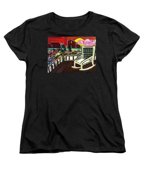 Barnyard Women's T-Shirt (Standard Cut) by Kelly Turner