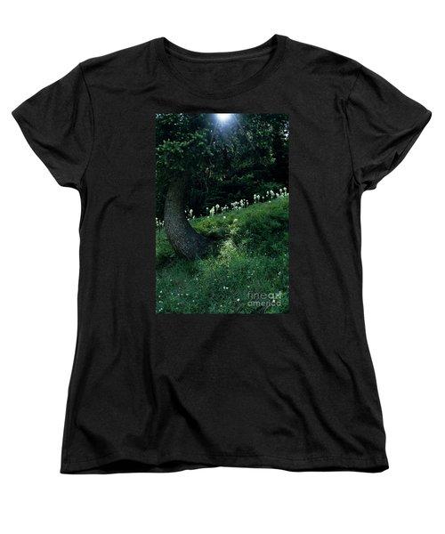 Women's T-Shirt (Standard Cut) featuring the photograph Bear-grass Ridge II by Sharon Elliott