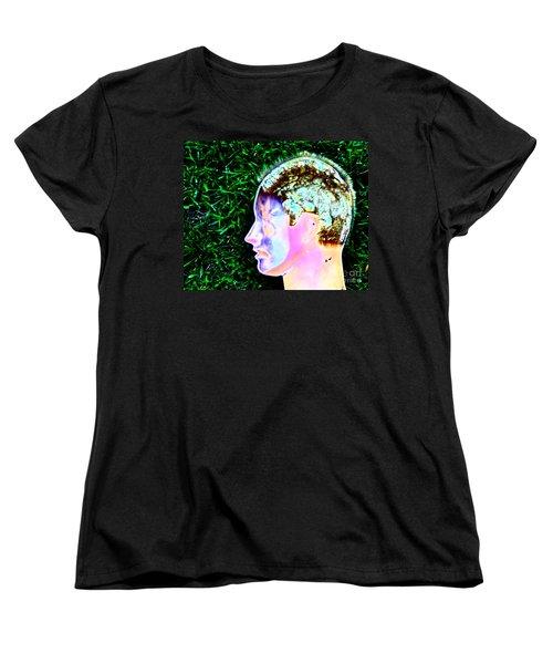 Women's T-Shirt (Standard Cut) featuring the photograph Being Of Light by Xn Tyler