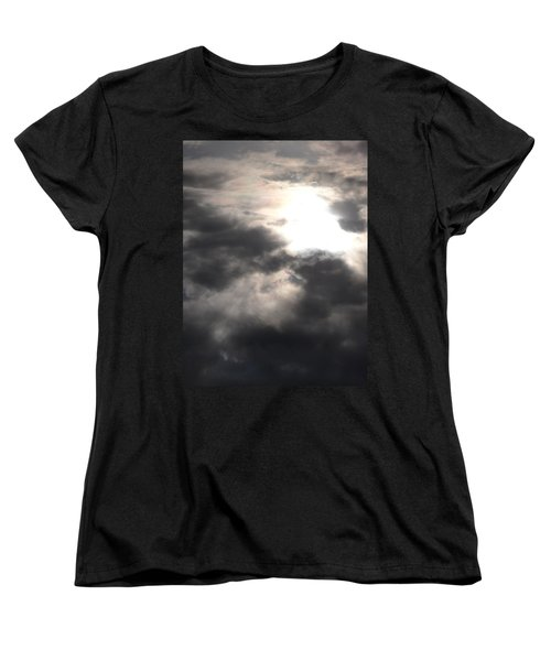 Beneath The Clouds Women's T-Shirt (Standard Cut) by James Barnes
