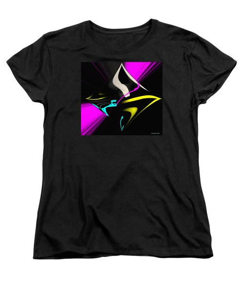 Women's T-Shirt (Standard Cut) featuring the photograph Black Diamond by George Pedro