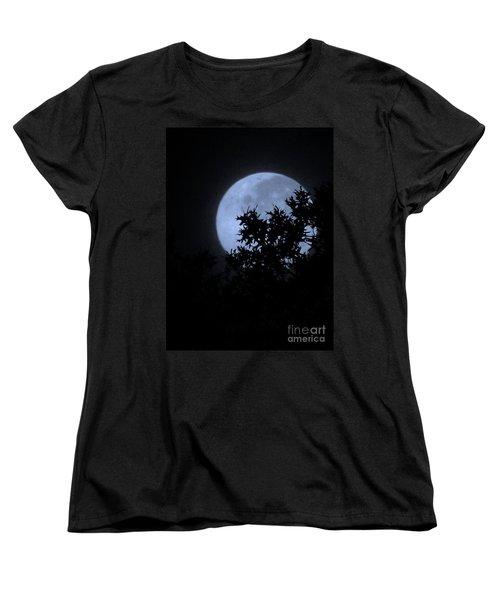 Blue August Women's T-Shirt (Standard Cut) by Greg Patzer
