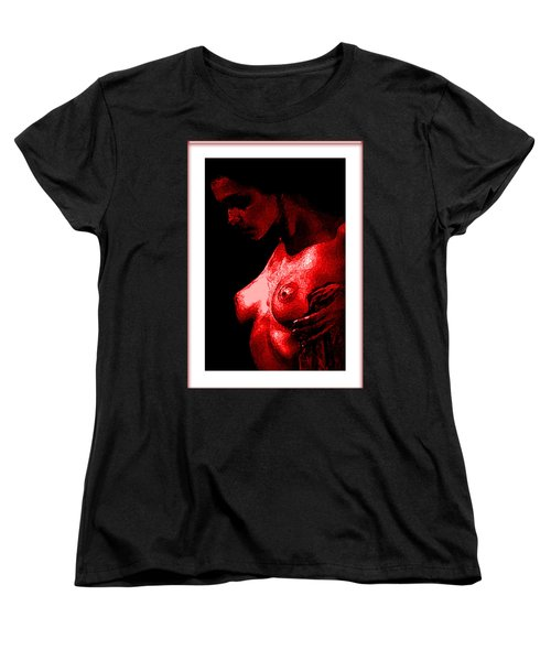 Breast In Color Women's T-Shirt (Standard Cut) by Tbone Oliver
