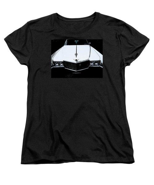 Cadillac Pimp Mobile Women's T-Shirt (Standard Cut) by Kym Backland