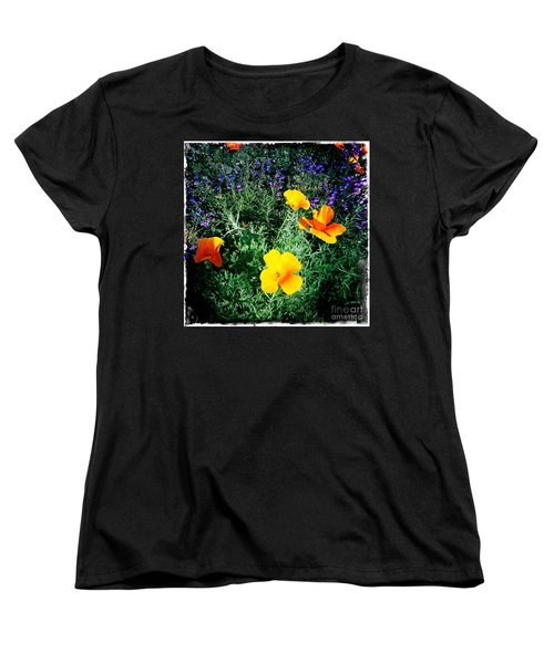Women's T-Shirt (Standard Cut) featuring the photograph California Poppy by Nina Prommer