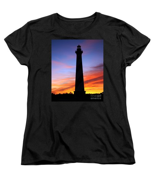 Women's T-Shirt (Standard Cut) featuring the photograph Cape Hatteras Sunset by Tony Cooper
