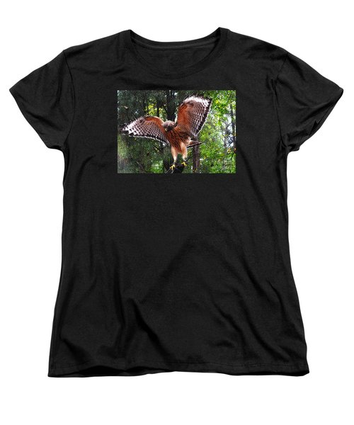 Women's T-Shirt (Standard Cut) featuring the photograph Captivity by Lydia Holly