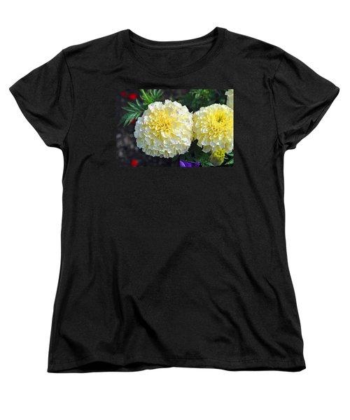 Carnations Women's T-Shirt (Standard Cut) by Tikvah's Hope