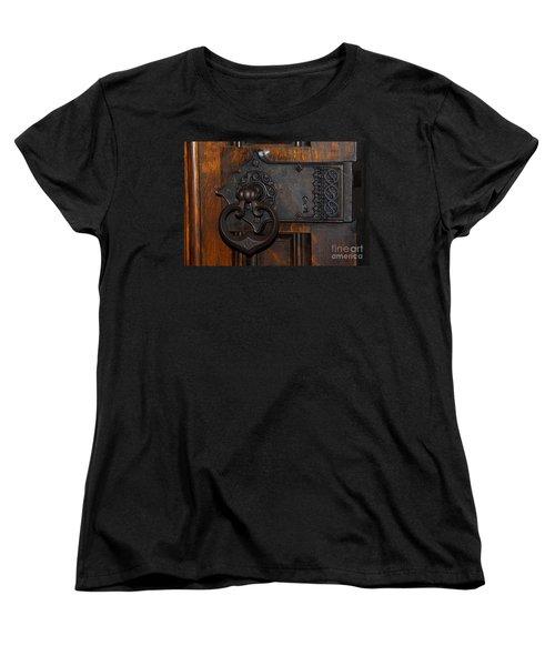 Chapel Door Women's T-Shirt (Standard Cut) by Cindy Manero