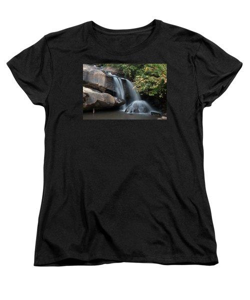 Chau-ram Falls Women's T-Shirt (Standard Cut) by Lynne Jenkins