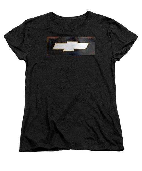 Chevy Bowtie Women's T-Shirt (Standard Cut) by Glenn Gordon