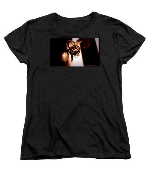 Chocolate Silk Fuchsia II Women's T-Shirt (Standard Cut) by Jeanette C Landstrom