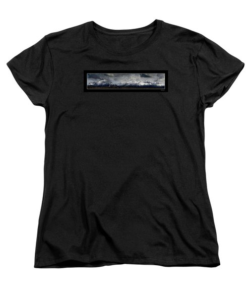 Chugach Mountains Women's T-Shirt (Standard Cut)