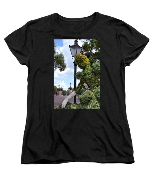 Cinderella Waltz Women's T-Shirt (Standard Cut) by Bonnie Myszka