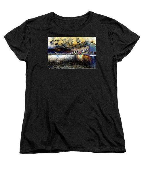 City Of Color Women's T-Shirt (Standard Cut) by Douglas Barnard