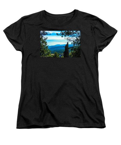 Women's T-Shirt (Standard Cut) featuring the photograph Colorado View by Shannon Harrington