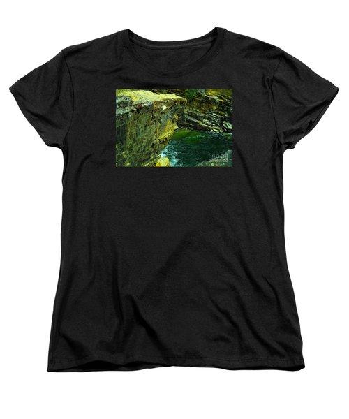 Colored Rocks  Women's T-Shirt (Standard Cut) by Jeff Swan