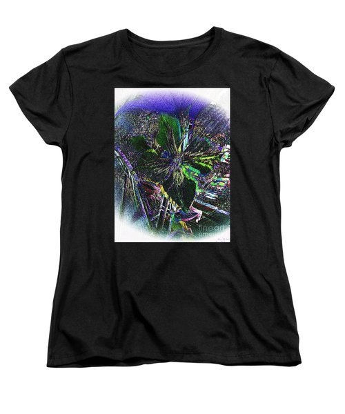 Women's T-Shirt (Standard Cut) featuring the photograph Colorful by Donna Brown