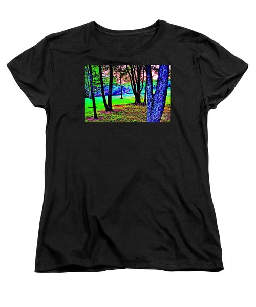 Women's T-Shirt (Standard Cut) featuring the photograph Colour Whore by Xn Tyler
