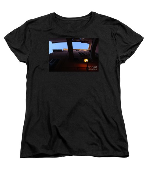 Women's T-Shirt (Standard Cut) featuring the photograph Colours Of Light II by Andy Prendy