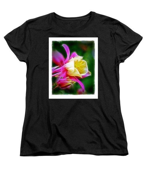 Columbine Women's T-Shirt (Standard Cut) by Judi Bagwell