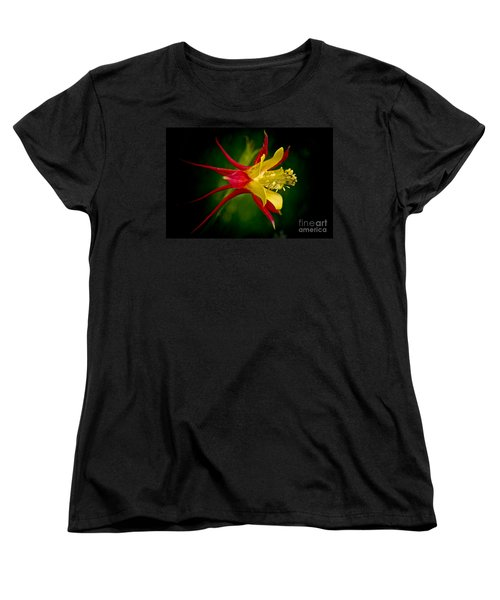 Columbine Women's T-Shirt (Standard Cut) by Larry Carr