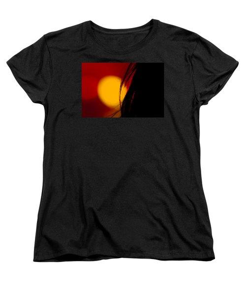 Concert Silhouette Women's T-Shirt (Standard Cut) by Tom Gort