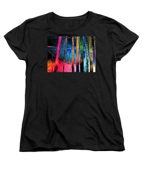Women's T-Shirt (Standard Cut) featuring the photograph Construct by David Pantuso