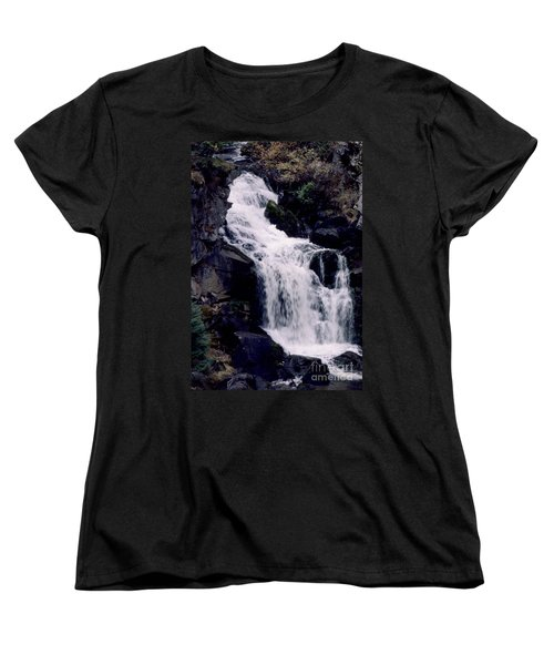 Women's T-Shirt (Standard Cut) featuring the photograph Cool Clear Waters by Sharon Elliott