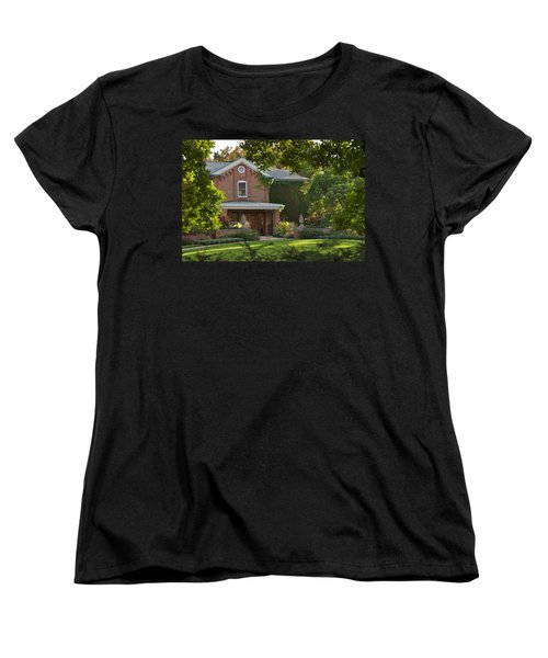 Women's T-Shirt (Standard Cut) featuring the photograph Cowles House by Joseph Yarbrough