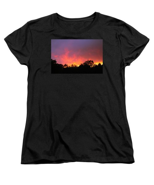 Crepuscule Women's T-Shirt (Standard Cut) by Bruce Patrick Smith
